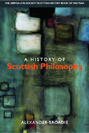 A History of Scottish Philosophy