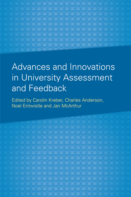 Advances and Innovations in University Assessment and Feedback