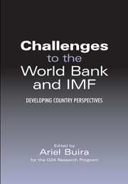 Challenges to the World Bank and IMF