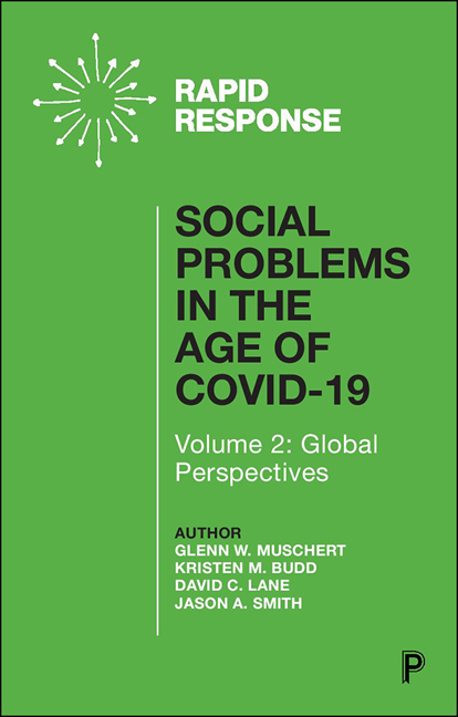Social Problems in the Age of COVID-19 Vol 2