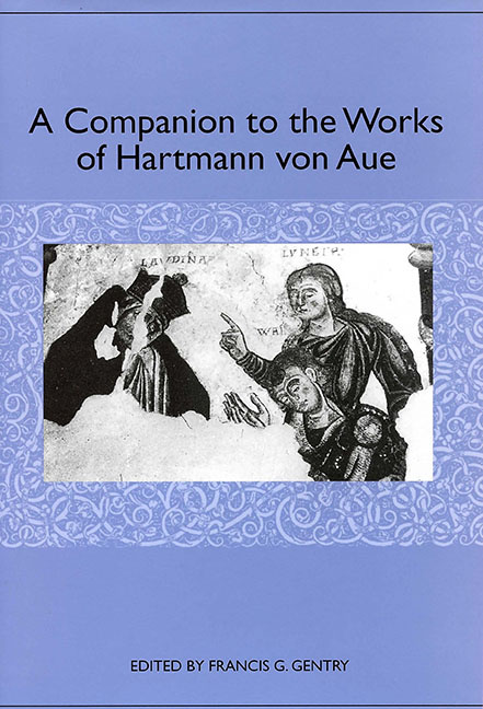 A Companion to the Works of Hartmann von Aue
