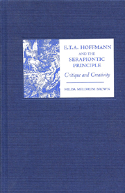 E. T. A. Hoffmann and the Serapiontic Principle