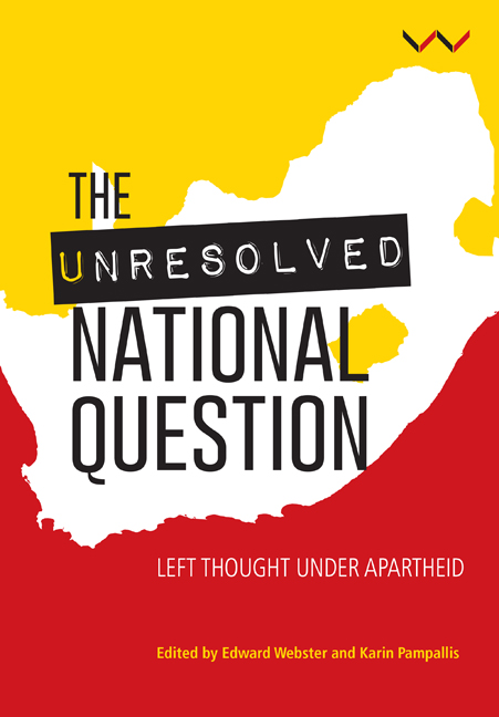 The Unresolved National Question in South Africa
