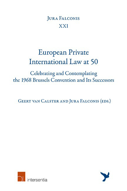 European Private International Law at 50