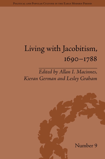 Living with Jacobitism, 1690–1788
