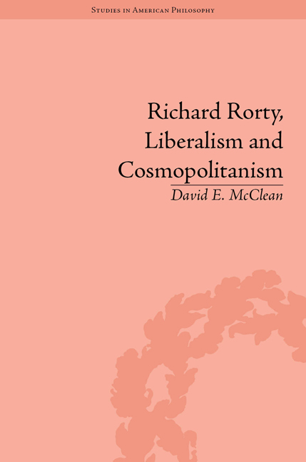 Richard Rorty, Liberalism and Cosmopolitanism