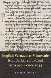 English Vernacular Minuscule from Æthelred to Cnut, circa 990 - circa 1035