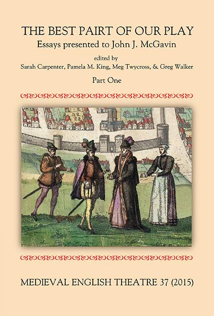 Medieval English Theatre 37