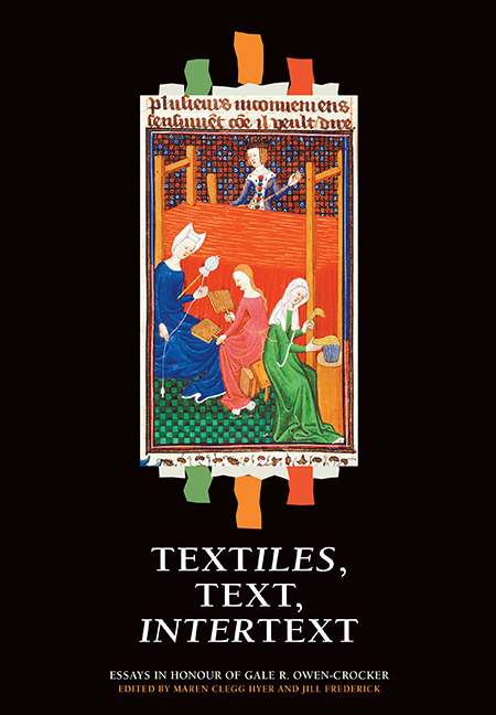 Textiles, Text, Intertext