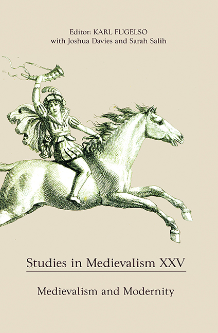 Studies in Medievalism XXV