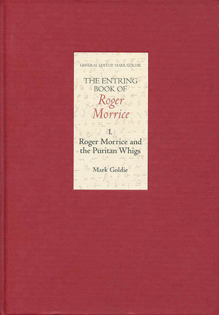The Entring Book of Roger Morrice