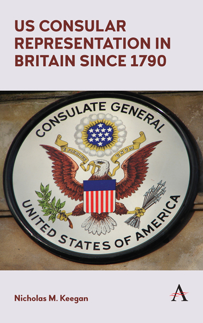 US Consular Representation in Britain since 1790
