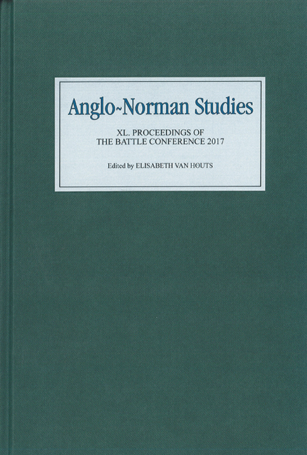 Anglo-Norman Studies XL