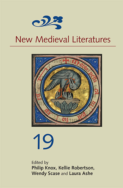 New Medieval Literatures 19