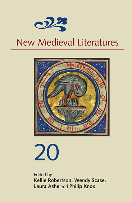 New Medieval Literatures 20