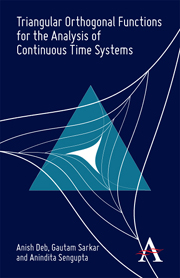 Triangular Orthogonal Functions for the Analysis of Continuous Time Systems