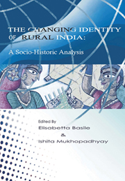 The Changing Identity Of Rural India Edited By Elisabetta border=
