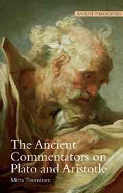 The Ancient Commentators of Plato and Aristotle
