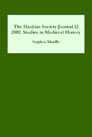 The Haskins Society Journal 12
