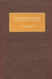 Writing Medieval Biography, 750–1250