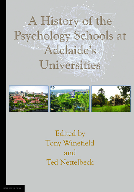 A History of the Psychology Schools at Adelaide's Universities