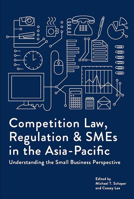 Competition Law, Regulation and SMEs in the Asia-Pacific