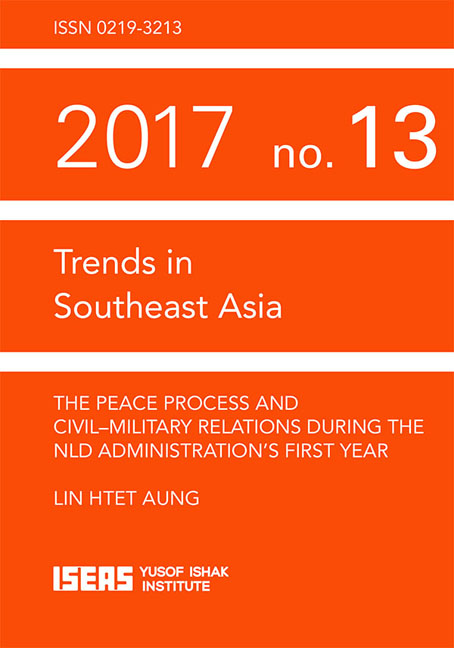 The Peace Process and Civil-Military Relations during the NLD Administration's First Year