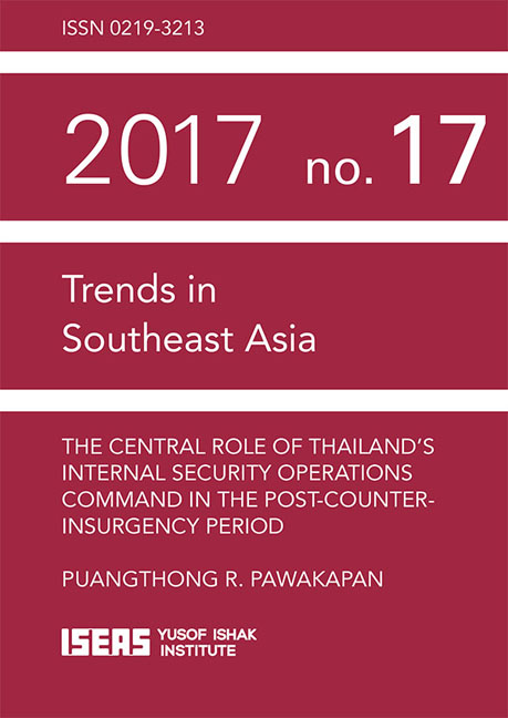 The Central Role of Thailand's Internal Security Operations Command in the Post-Counter-insurgency Period