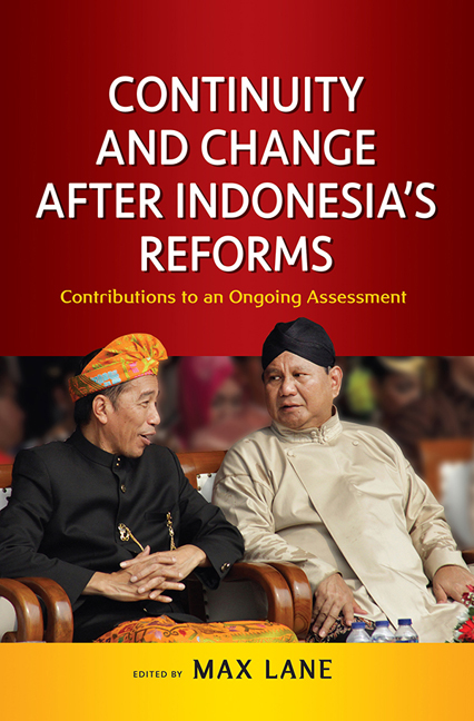 Continuity and Change after Indonesia's Reforms