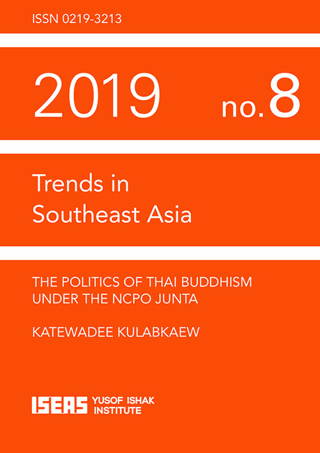 The Politics of Thai Buddhism under the NCPO Junta