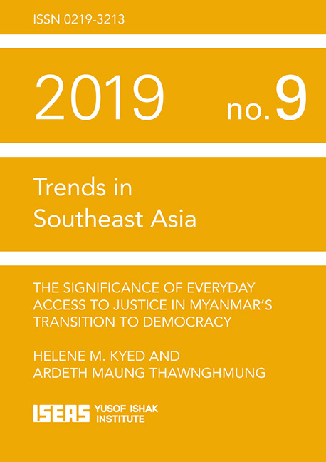 The Significance of Everyday Access to Justice in Myanmar's Transition to Democracy