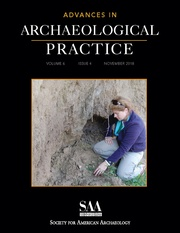Advances in Archaeological Practice Volume 6 - Issue 4 -