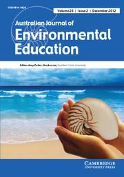 Australian Journal of Environmental Education Volume 28 - Issue 2 -