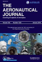 The Aeronautical Journal Volume 120 - Special Issue1223 -  150th anniversary of the Royal Aeronautical Society