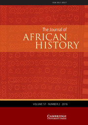 The Journal of African History Volume 57 - Issue 2 -