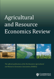 Agricultural and Resource Economics Review Volume 47 - Special Issue2 -  Climate Change and Land Conservation and Restoration
