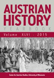 Austrian History Yearbook Volume 46 - Issue  -