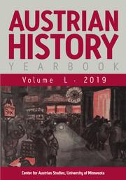 Austrian History Yearbook Volume 50 - Issue  -