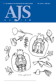 AJS Review Volume 35 - Issue 1 -