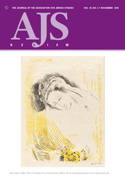 AJS Review Volume 40 - Issue 2 -