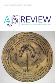 AJS Review Volume 43 - Issue 1 -