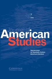 Journal of American Studies Volume 42 - Issue 1 -