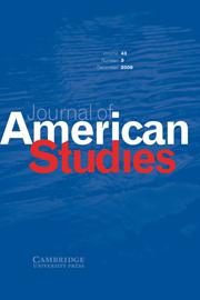 Journal of American Studies Volume 43 - Issue 3 -