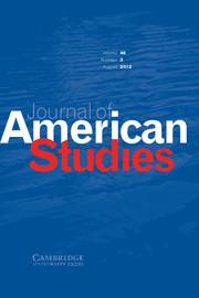 Journal of American Studies Volume 46 - Issue 3 -