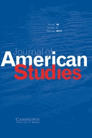 Journal of American Studies Volume 48 - Issue 1 -