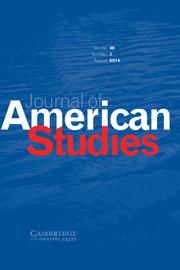 Journal of American Studies Volume 48 - Issue 3 -