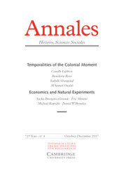 Annales. Histoire, Sciences Sociales: English Edition