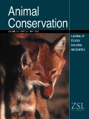 Animal Conservation forum Volume 8 - Issue 2 -