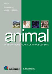 animal Volume 11 - Issue 2 -