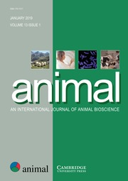 animal Volume 13 - Issue 1 -